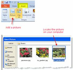 Download 700 essential powerpoint charts in 1 pack everything from add clip art and pictures to powerpoint 2010 slides insert a picture into a powerpoint ccuart Images