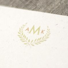 @Robin S. Lin this is a nice little monogram. Or maybe I just like the paper that it's printed on...