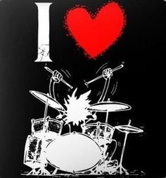 Music Pictures, Art Pictures, Rage Art, The Little Drummer Boy, Instruments, Drums Art, Novelty Signs, Drum Kits, Halloween 2018