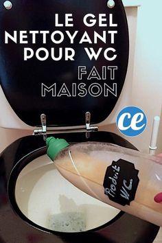 Plus Besoin De Gel WC Harpic ! Utilisez Ce Gel Maison Au Vinaigre Blanc Encore Plus Efficace.