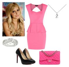 """""""Sharpay Evans"""" by charmedgreys ❤ liked on Polyvore featuring Blue Nile, Chanel, women's clothing, women, female, woman, misses and juniors"""