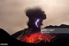 Filmmaker Marc Szeglat captures the phenomena of volcanic lightning on a previous trip to Sakurajima in 2013 in Kyushu Japan A VOLCANO explodes into...