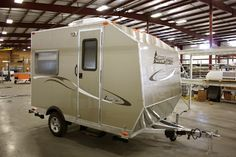 Small Travel Trailers | ... RV's Unique Camp Lite Travel Trailer | The Small Trailer Enthusiast