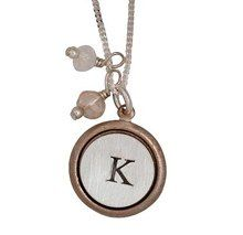 Three Sisters Rose Gold Pretty Little Initial Necklace, 50% Off! Lucky Breaks Price: $24.50 -- great deal! Just bought one