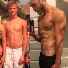 #tbt  #transformationtuesday  18 years old on the left  .  I think this can really help put things into perspective.  At the VERY most I only weigh 5 more pounds in the picture on the right; around 160lbs.  This just goes to show that having lean muscle and low body fat percentages goes a LONG way!  Hard to believe I had much fat to lose in the picture on the left but compared to the one on the right you can see I'm more defined and cut now.  A lot has happened since that 18 year old…