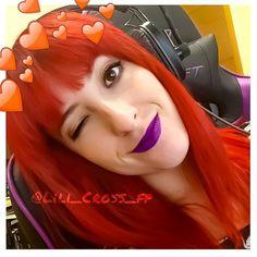 Lili Cross Youtube 💖 *idola te amamos* Girls World, Streamers, Youtubers, Halloween Face Makeup, Lily, Te Amo, Lilies, Youtube, Leis