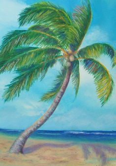 Palm Tree 1 - WetCanvas