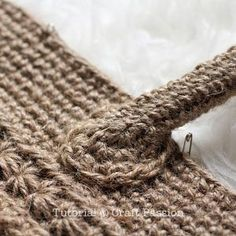 Crochet | Star Stitch Tote With Jute Twine | Free Pattern& Tutorial at CraftPassion.com - Part 2