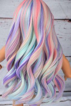 Cute Hair Colors, Pretty Hair Color, Beautiful Hair Color, Hair Dye Colors, Pastel Hair Colors, Fun Hair Color, Vivid Hair Color, Girl Hair Colors, Purple Hair