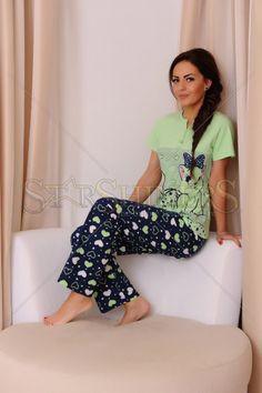 Pijama Adorable Night Green