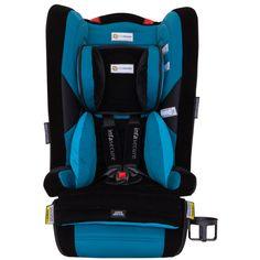 InfaSecure Comfi Classique Convertible Booster Seat - Aqua