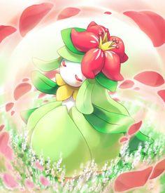 Lilligant Pokemon - Grass Type