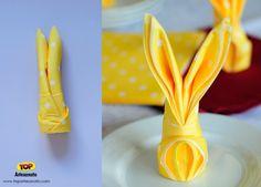 Páscoa - Decoração de mesa pra Páscoa - Passo 3