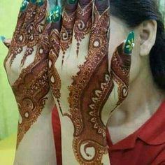 . Kashee's Mehndi Designs, Pakistani Henna Designs, Arabic Henna Designs, Mehndi Designs For Fingers, Wedding Mehndi Designs, Mehndi Design Pictures, Beautiful Henna Designs, Beautiful Mehndi, Mehndi Images