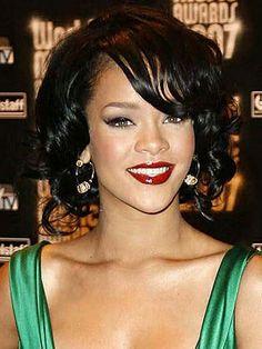 Rihanna #Eyeshadow #Makeup #Lipstick