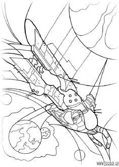 Ben 10  Fireball alien coloring page for boys  Boys coloring