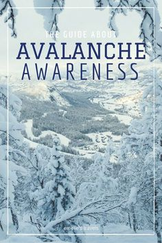 The guide about avalanche awareness | How to ride backcountry | How to avoid avalanches | Avalanche course | Åre lavincenter | Avalanche Safety