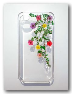 Handmade iPhone 4/4S case Resin with Dried by Annysworkshop, $18.00