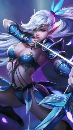 Miya the Moonlight Archer Wallpaper