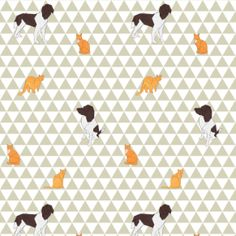 Motiflow Web Dog Wallpaper, Origami Animals, Dog Cat, Goodies, Kids Rugs, Pattern, Collection, Sweet Like Candy, Kid Friendly Rugs