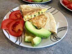 Diary of a Sauce Pot: Breakfast Quesadilla