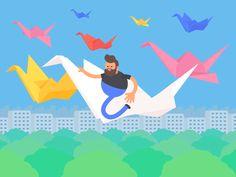 Tokyo Gifathon Day 21 by James Curran - Dribbble