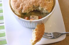 Individual Chicken Pot Pie by Back to the Cutting Board, via Flickr