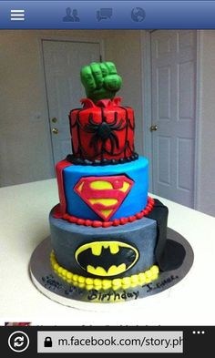Love this cake. Gonna be my baby boys birthday cake in the near future lol
