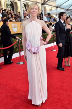Fashion At The 2014 SAG Awards Red Carpet: Cate Blanchett