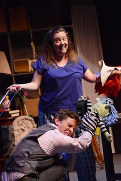 #Fuddy Meers at #TheatreInThePark, Raleigh through June 30, deceives with twists & surprises to leave your gut wrenching with laughter & the Limping Man. Photo by Stephen J. Larson. http://www.boomnc.com/boom-bits-reviews-books-movies-music-misc/we-laughed-so-hard-we-forgot-why-it-was-funny-fuddy-meers-at-theatre-in-the-park/