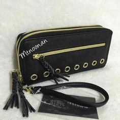Steve Madden Double Zip Around Wallet - Mercari: Anyone can buy & sell