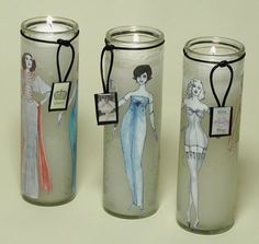 iLoveToCreate Blog: Paper Doll Candles