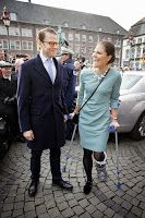 January 30, 2014  Victoria and Daniel in Germany - Day Two Crown Princess Victoria and Prince Daniel visited Düsseldorf and Essen on their 2nd day of the visit to Germany.