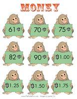 Math file folder games- Money!