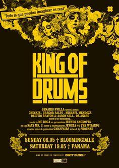 KING OF DRUMS #Bloomingdale #beachclub
