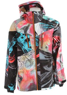 Travis Rice's Quicksilver Gore-Tex Snowboard Jacket