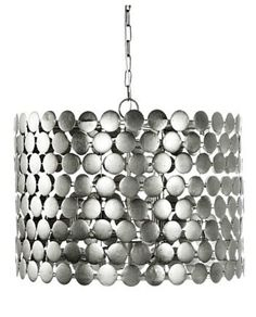 Elegant Dot Pendant Light - Silver Leaf – Allissias Attic & Vintage French Style
