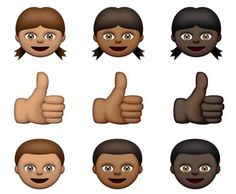 Apple launches racially diverse emojis #CMIEvo