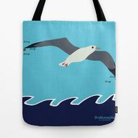 Tote Bag featuring Bråkemåken by Fjærdrakt