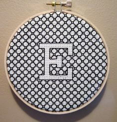 Gorgeous blackwork project I saw on Very cute way to do a cross stitch monogram. Motifs Blackwork, Blackwork Cross Stitch, Blackwork Embroidery, Embroidery Hoop Art, Cross Stitching, Cross Stitch Embroidery, Embroidery Patterns, Embroidery Boutique, Embroidery Tattoo
