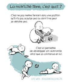 Le Vrai-Faux de la motricité libre · How I Play with my mome Gentle Parenting, Kids And Parenting, Infant Activities, Activities For Kids, Kid Essentials, Nanny Jobs, Baby Development, Baby Hacks, Childhood Education