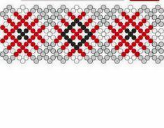 Beading Patterns Free, Beaded Jewelry Patterns, Beading Tutorials, Bracelet Patterns, African Beads Necklace, Native Beadwork, Bead Crochet, Loom Beading, Bead Weaving