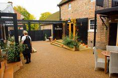 Entrance to reception venue
