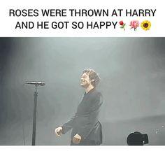 Harry on stage tonight Mannheim, Germany April 5, 2018