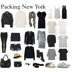 Such a great list of the things to pack for a nice little trip to New York!