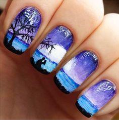 23 Diseños de uñas que cuentan una historia. Nails ideas. Nails desings stories. diseño de uñas con historias