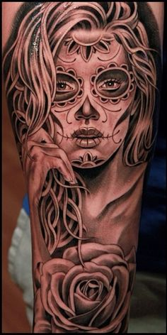 Catrina Tattoo Jun Cha