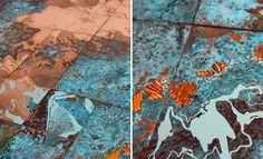 Danielle Folkes New Designers 2015 Fabric Manipulation Techniques, News Design, Embroidery Stitches, Textiles, Designers, Inspiration, Biblical Inspiration, Fabrics, Inspirational