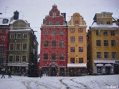 Stockholm in wintertime