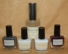 #Scotch #Naturals Base, Top Coat, #Smoky #Martini, #Velvet #Kilt, & #Remover #Combo Pack #ValentinesDay #gifts #local #MadeinUSA #vegan #nail #polish